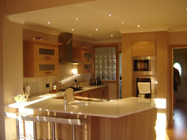 Caws Carpentry kitchen installation